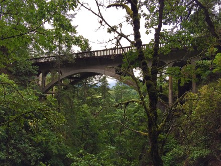 Shepperds Dell Bridge on the Historic Columbia River Highway