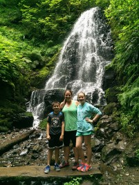 Family Hike in the Columbia River Gorge To Fairy Falls