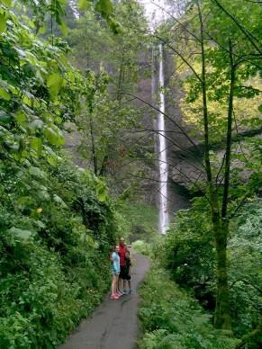 Latourell Falls Family Hike