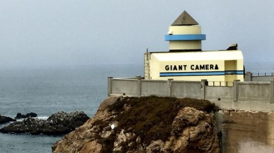 Giant Camera Obscura at The Cliff House in San Francisco