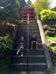 Steep Stairs To Achieve Zen at the Japanese Tea Garden