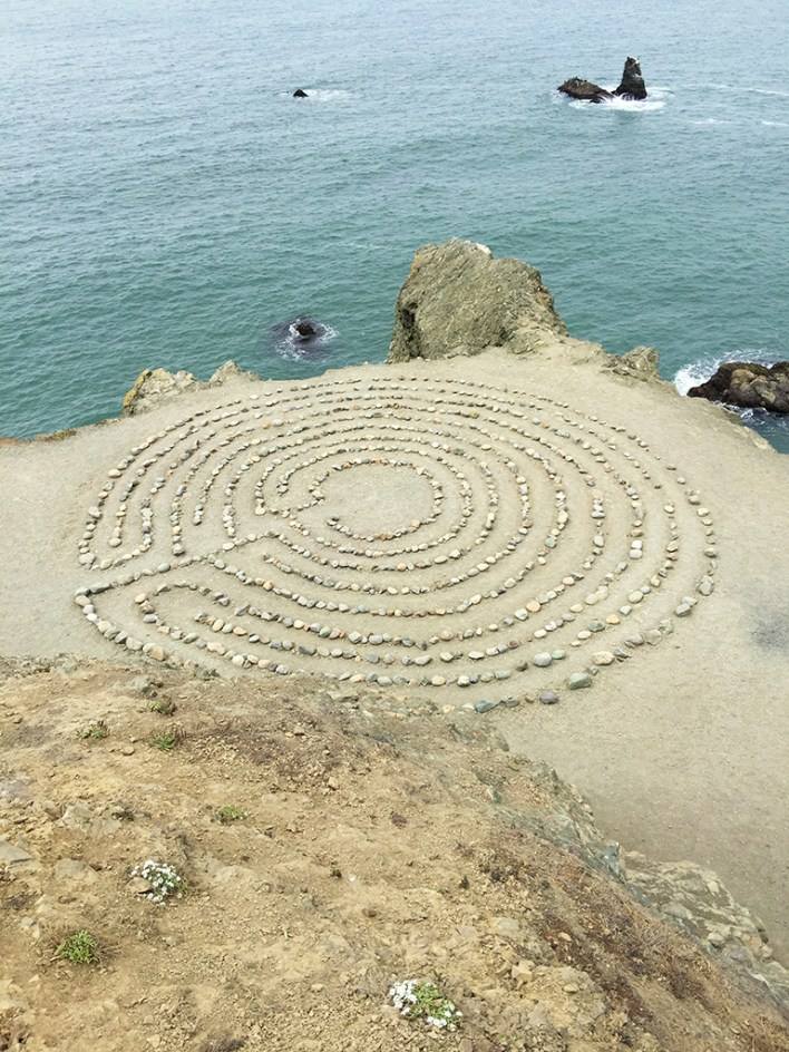 Lands End Coastal Trail Labyrinth in San Francisco