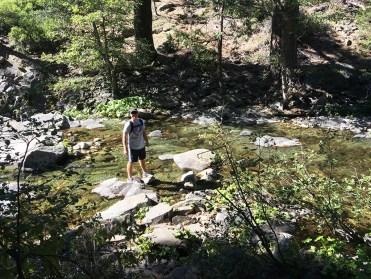 Short Emigrant Gap Waterfall Hike