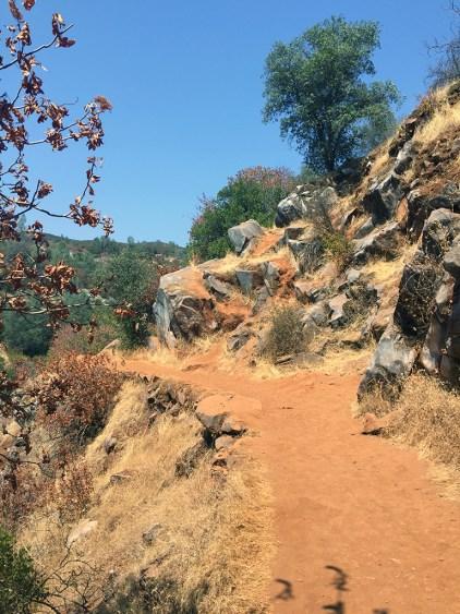 Hiking Natural Bridges Trail