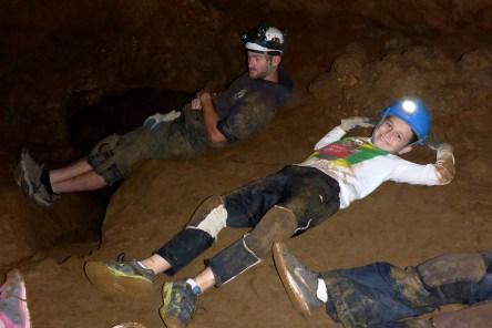 Cavern Tour Break Time in The Mud