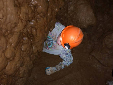 Spelunking At California Cavern in Mountain Ranch