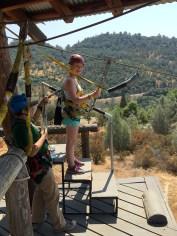 Zip Line Adventure in Calaveras County, California