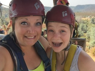 Zip Line At Moaning Cavern Adventure Park