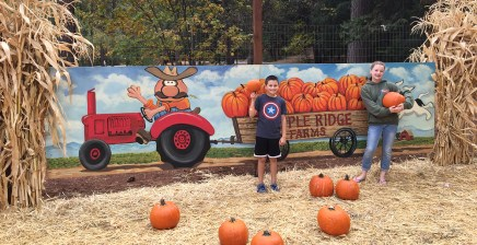 Apple Ridge Farms Pumpkin Patch at Apple Hill