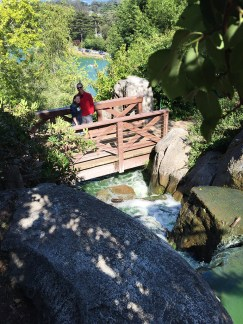 Strawberry Hill Waterfall Overlook and Hiking Trail
