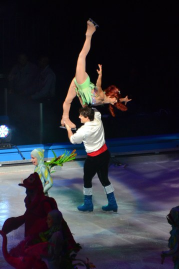 Ariel and Prince Eric in The Little Mermaid For Disney On Ice