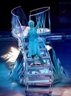 Queen Elsa Ice Castle In Frozen by Disney On Ice