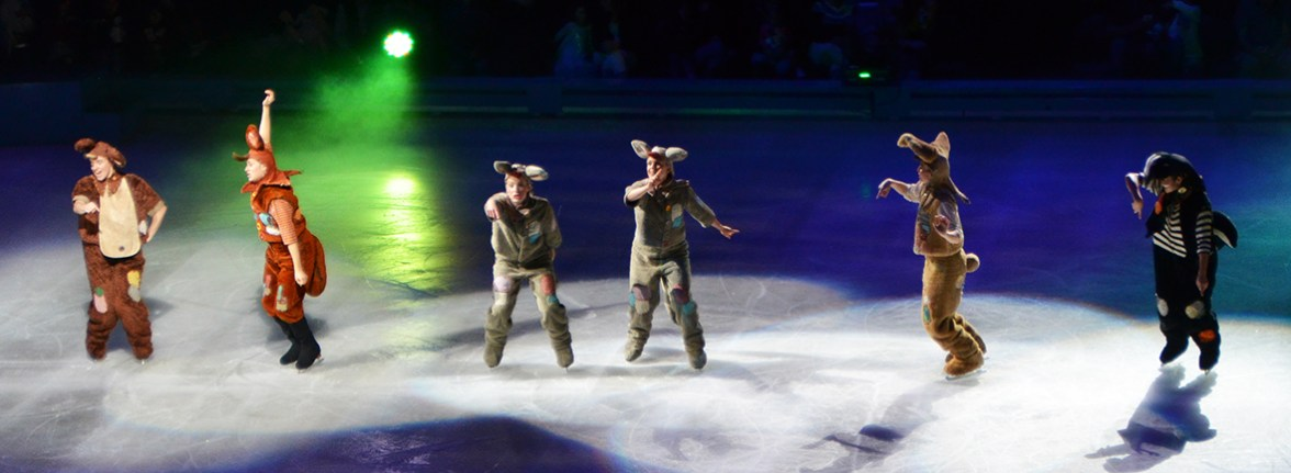 The Lost Boys From Peter Pan For Disney On Ice Passport To Adventure