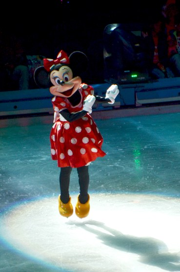 Minnie Mouse in Disney on Ice Passport To Adventure