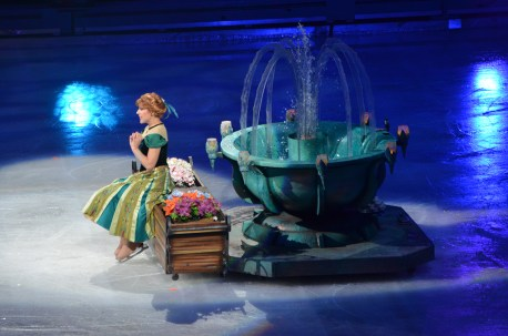 Princess Anna In Frozen by Disney On Ice