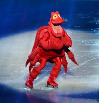 Sebastian in The Little Mermaid For Disney On Ice Passport to Adventure