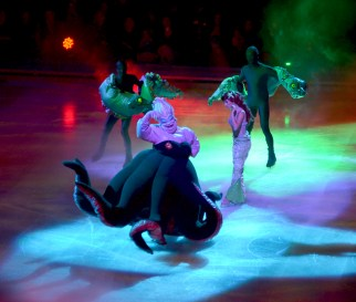 Ursula The Sea Witch in The Little Mermaid For Disney On Ice Passport to Adventure