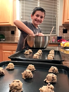 Carter Baking Chewy Chocolate Chip Cookies