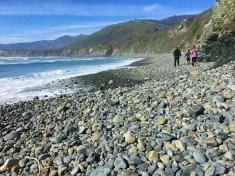 Cobblestones at Sand Dollar Beach