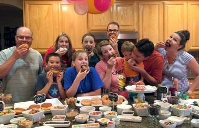Donut Themed Birthday Party