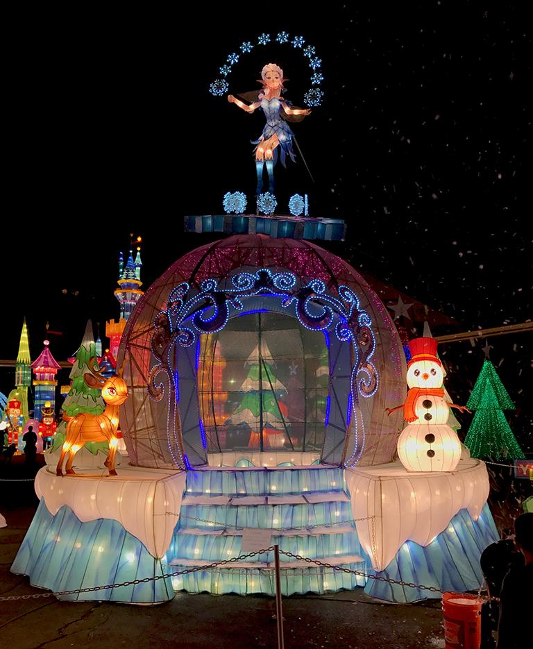 Global Winter Wonderland Lantern Festival At CalExpo, Sacramento