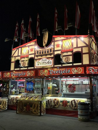 Hot Pretzels Carnival Food