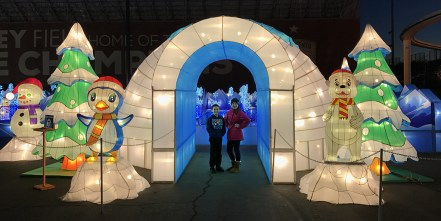 Snow and Ice Maze for Kids at Global Winter Wonderland