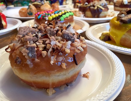 Toffee Magic Bar Doughnut