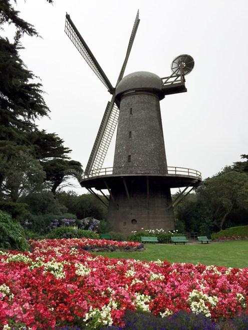The North Dutch Windmill in Golden Gate Park