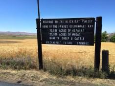 Kickitat Valley, Washington State
