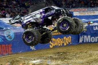 Mohawk Warrior Monster Jam Jumps