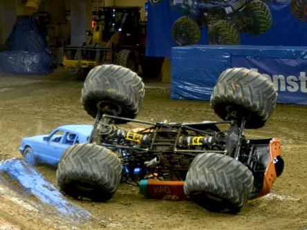 Monster Jam Truck Crash