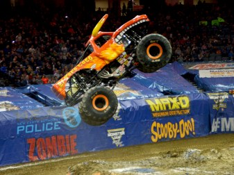 Moster Jam Truck Jumps By El Torro Loco