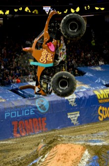 Scooby Doo Monster Jam Truck Jump