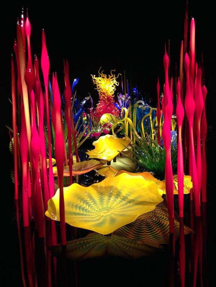 Seattle Exhibition of Glass Work By Dale Chihuly
