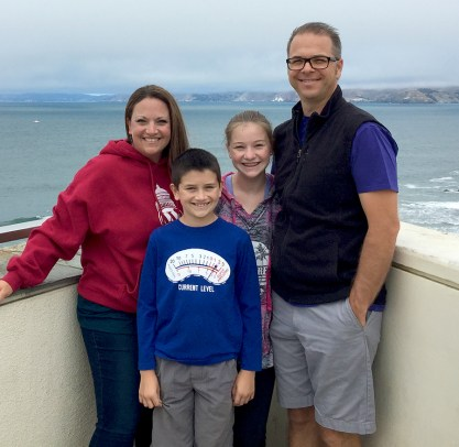 Bourn Family Weekend Getaway to San Francisco