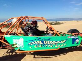 Driving Dune Buggies at Pismo Beach Sand Dunes in California