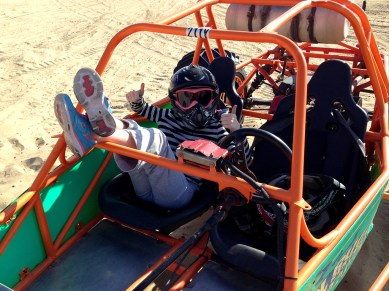 Pismo Beach Dune Buggies With Kids