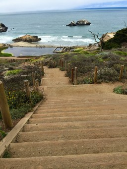Stairs to the Sutro Baths Ruins