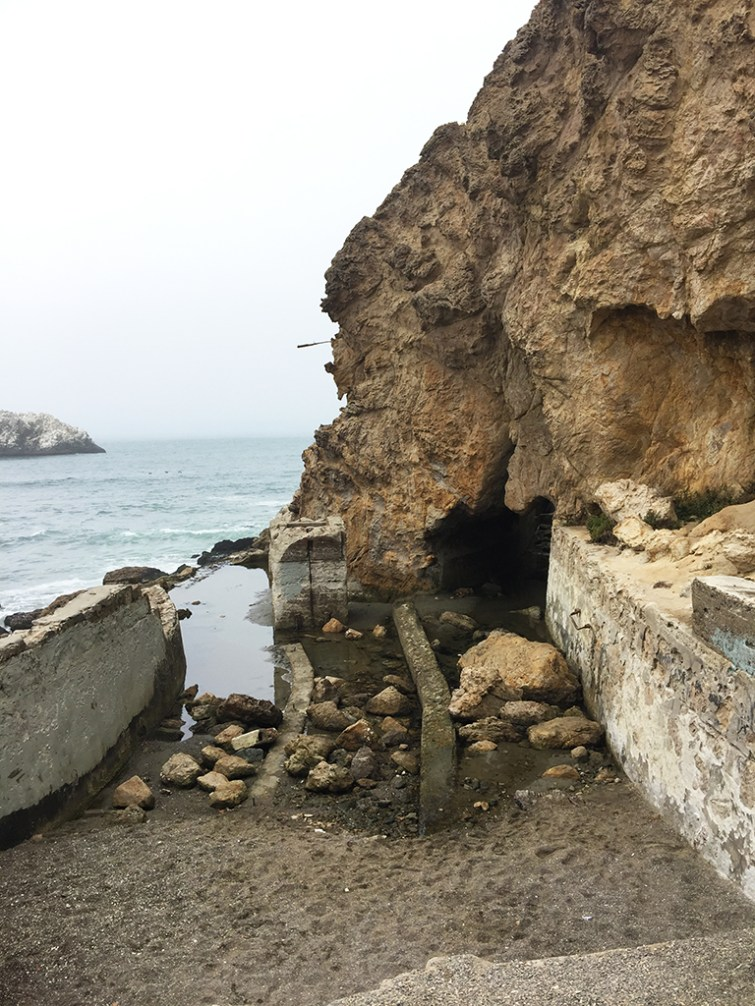 Sutro Baths Ruins And Cave