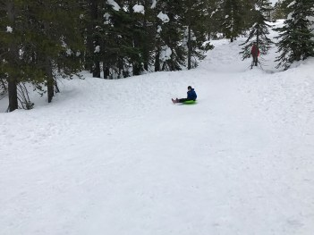 Kids Sno-Park Sledding Area at Donner Summit