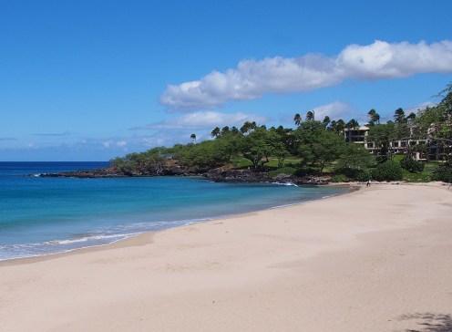 Hapuna Beach State Park in Kohala, Hawaii