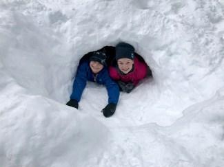 Kids Snow Cave