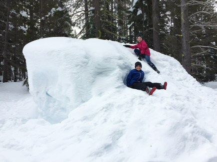Kids Snow Play Area at Donner Summit