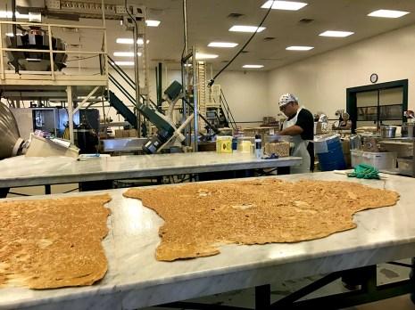 Macadamia Nut Brittle Factory Tour