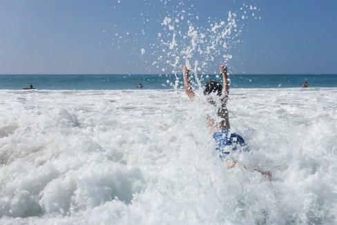 Swimming at Hapuna Beach, Hawaii's Best White Sand Beach