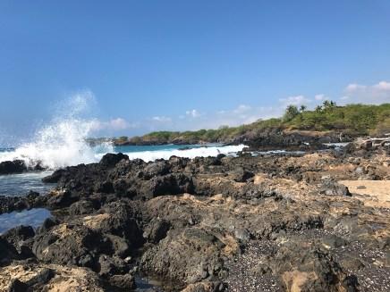 Waialea Bay on the Kohala Coast of the Big Island of Hawaii