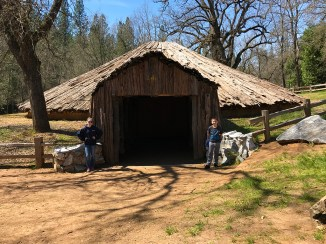 Indian Grinding Rock State Historic Park Roundhouse
