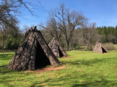 Miwok Indian Bark Houses