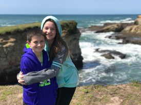 Carter and Natalie Bourn at the Point Arena-Stornetta Public Lands